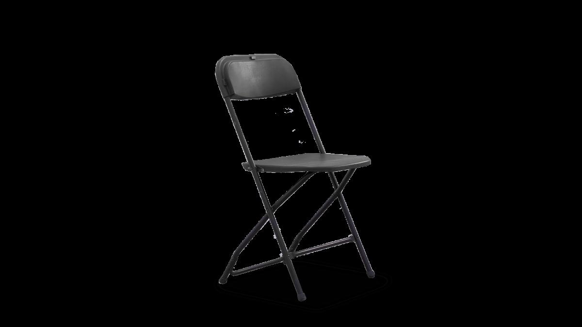 Polyfold Black Chair